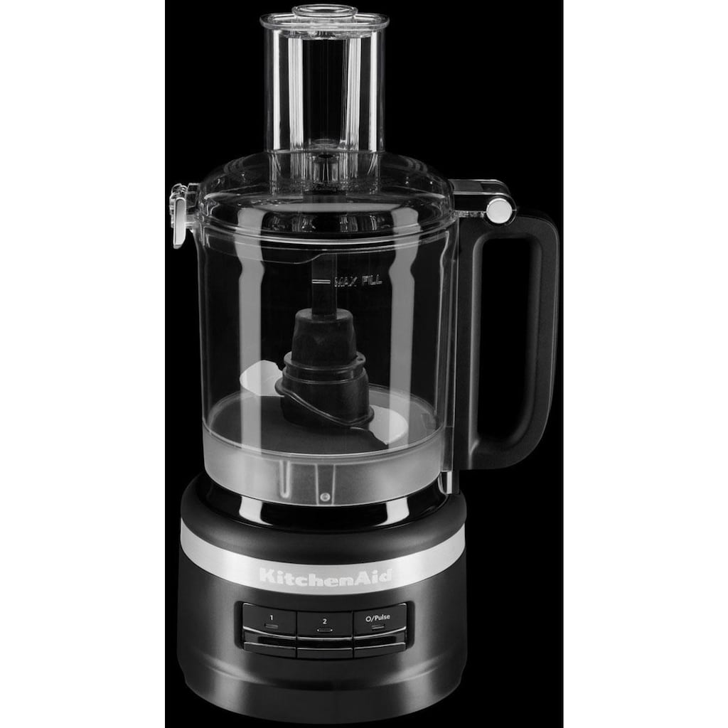 KitchenAid Zerkleinerer »2,1-l-Food Processor 5KFP0919EBM«, 250 W