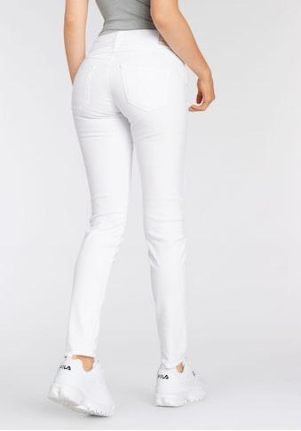 Herrlicher Slim-fit-Jeans »GINA SLIM POWERSTRETCH«, mit seitlichem Keileinsatz kaufen