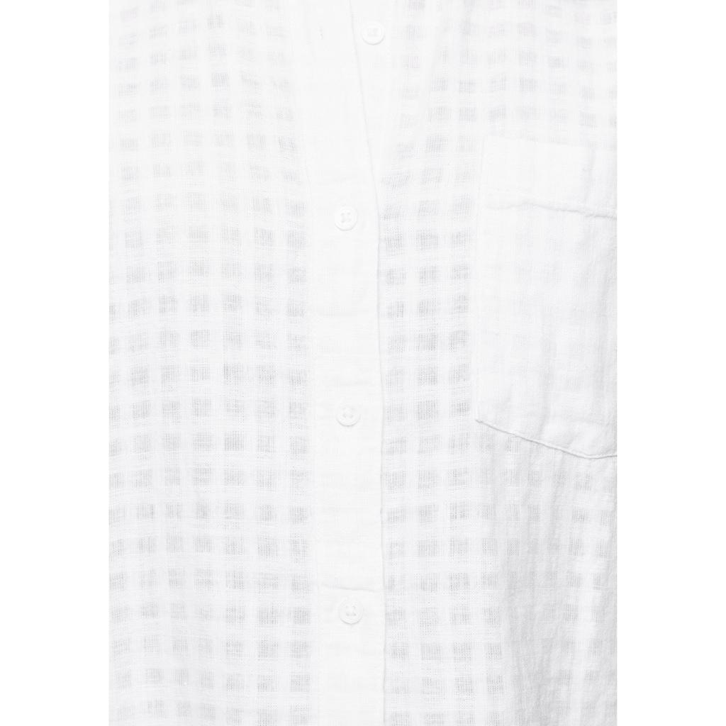 Levi's® Druckbluse »Laney SS Button Down«, mit gekrempelten Ärmeln
