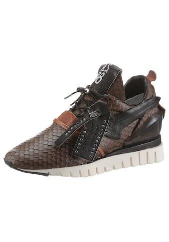A.S.98 Keilsneaker »DENASTAR«, mit angesagter Reptilienprägung kaufen