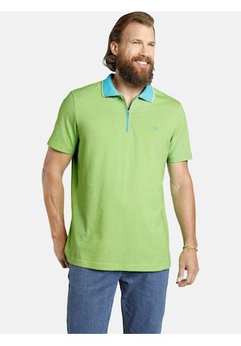 Jan Vanderstorm Poloshirt »LEX«, in luftiger Baumwollqualität kaufen