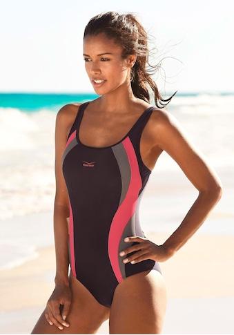 Venice Beach Badeanzug, mit Kontrasteinsätzen kaufen
