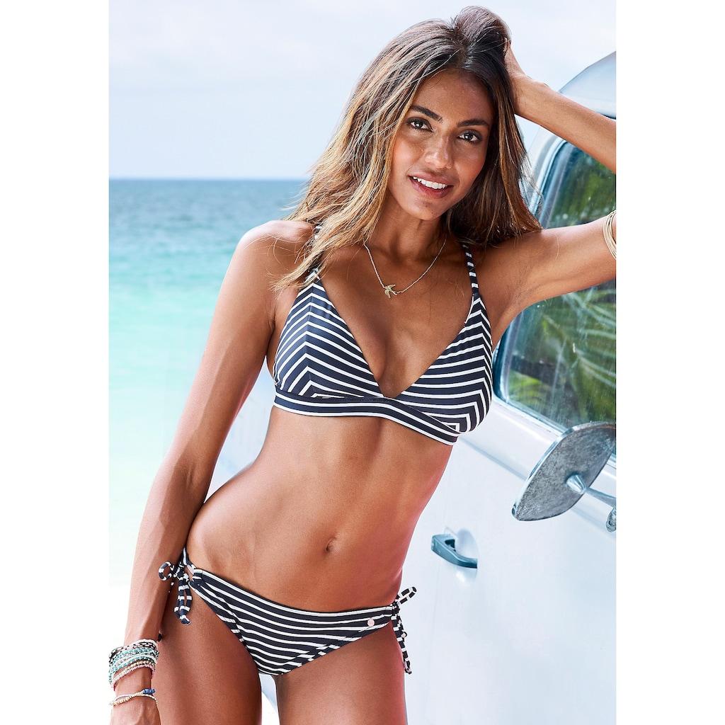 s.Oliver Beachwear Bikini-Hose »Hill«, mit trendigem Design