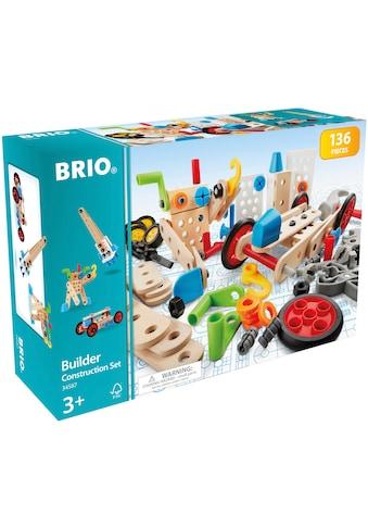 """BRIO® Konstruktionsspielsteine """"Builder Box"""", Holz Kunststoff, (136 - tlg.) kaufen"""