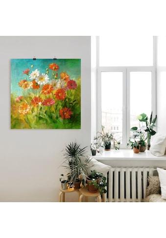 Artland Wandbild »Gemalte Gänseblümchen« kaufen