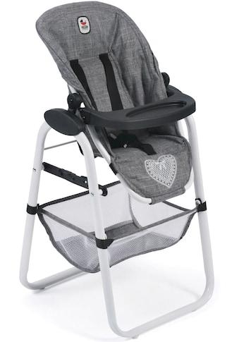 CHIC2000 Puppenhochstuhl »Hochstuhl, Jeans Grey« kaufen