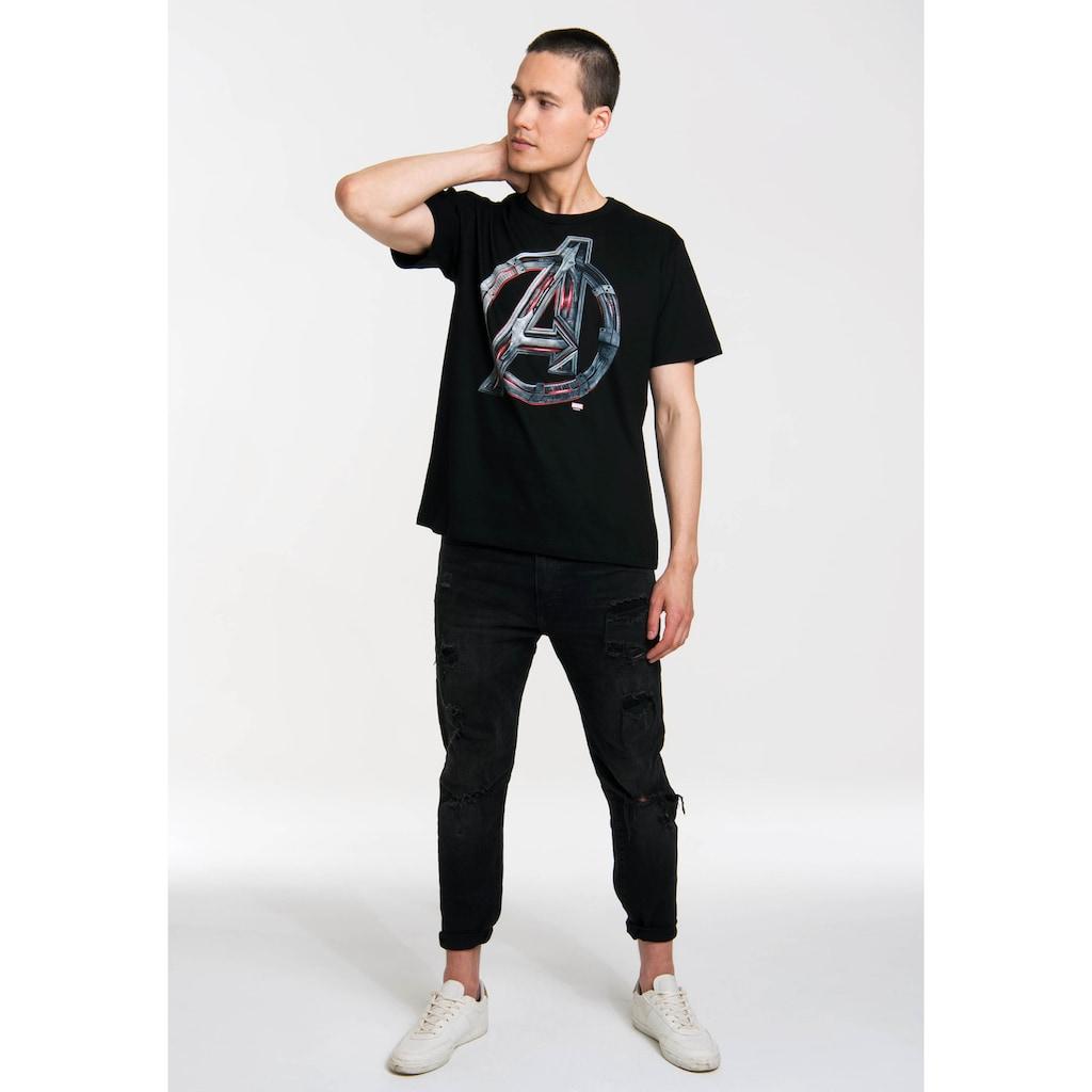 LOGOSHIRT T-Shirt mit lässigem Logodruck