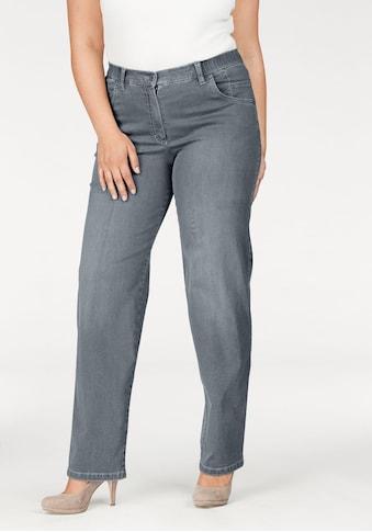 KjBRAND Straight-Jeans »Babsie: bequemer Oberschenkel«, Super Stretch kaufen