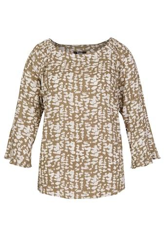 FRAPP Angesagte Carmen-Bluse mit floralem Print kaufen