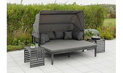 MERXX Loungeset »Argos Insel«, 3er Set, aus Aluminium, mit 2 Beistelltischen, inkl.... kaufen