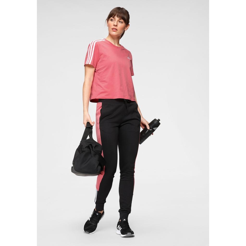 adidas Performance T-Shirt »ESSENTIALS LOOSE CROP T-SHIRT«