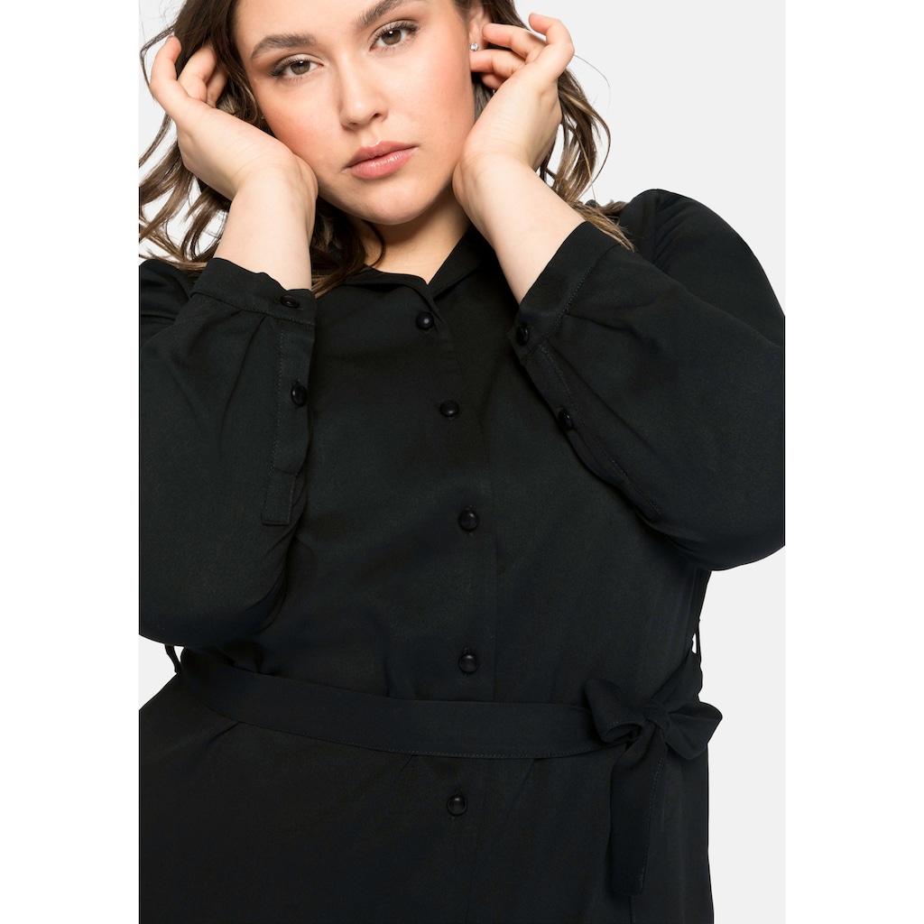 Sheego Blusenkleid, mit Reverskragen