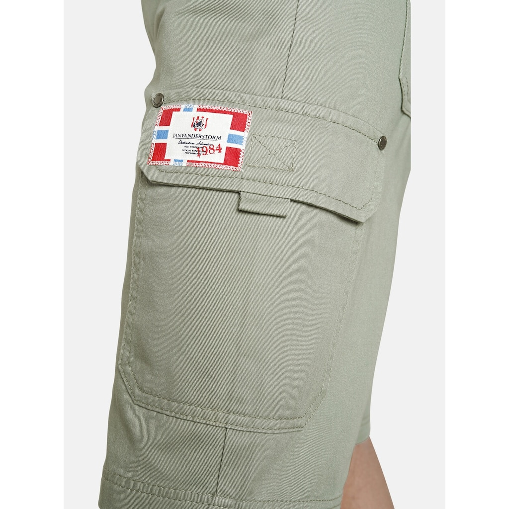 Jan Vanderstorm Cargobermudas »LARIS«, kurze Cargohose, Comfort Fit
