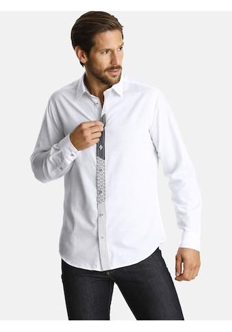 SHIRTMASTER Langarmhemd »blacksketches« kaufen