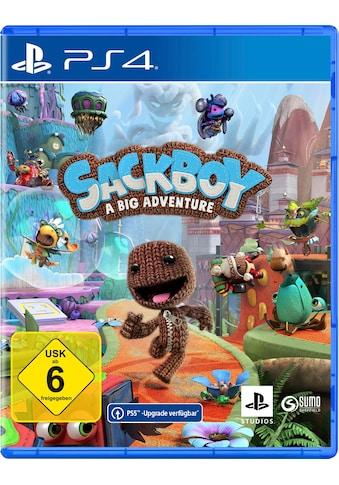 PlayStation 4 Spiel »Sackboy: A Big Adventure«, PlayStation 4 kaufen