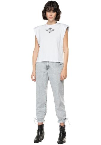 Replay T-Shirt, aus reiner Baumwolle kaufen
