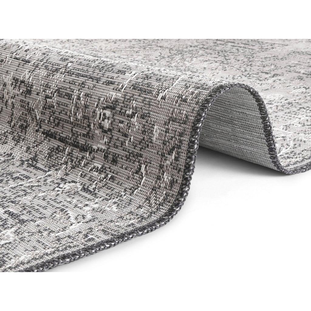 ELLE Decor Teppich »Cenon«, rechteckig, 3 mm Höhe, Vintage, In- und Outdoorgeeignet, Wohnzimmer
