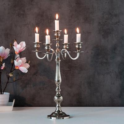 Kerzenständer aus Edelstahl