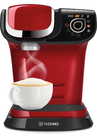 TASSIMO Kapselmaschine »MY WAY 2 TAS6503«, Kaffeemaschine by Bosch, rot, mit Wasserfilter, über 70 Getränke, Personalisierung, vollautomatisch, einfache Zubereitung kaufen