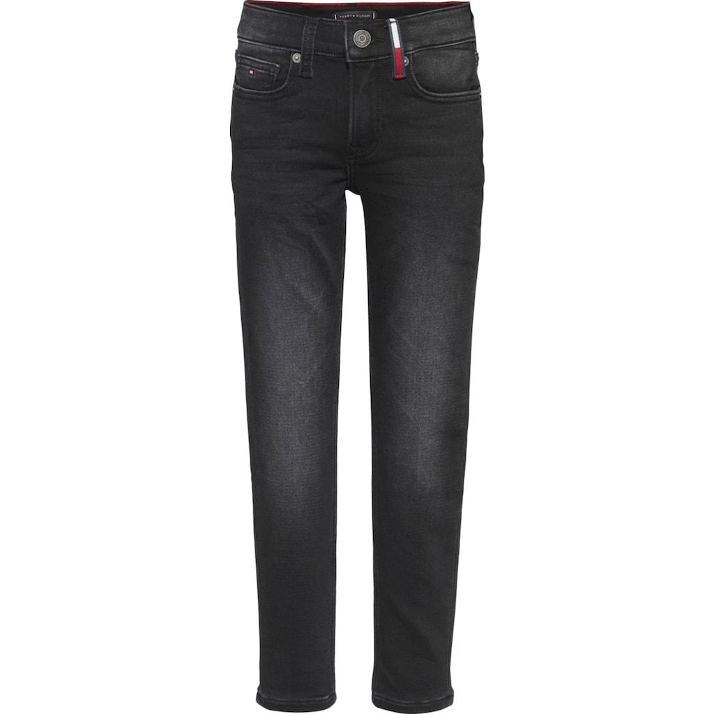 TOMMY HILFIGER Stretch-Jeans »SPENCER SLIM BRUSHED - B«