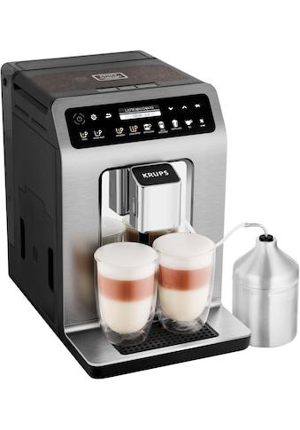 Krups Kaffeevollautomat »EA894T Evidence Plus One-Touch-Cappuccino«, Platzsparend mit vielen technischen Innovationen und Bedienungshighlights kaufen