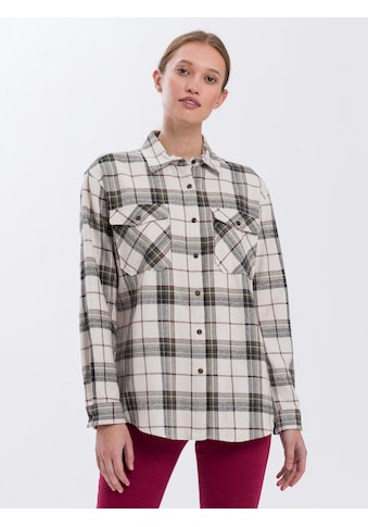 Cross Jeans® Flanellhemd »75308«, Flanellhemd im Holzfäller-Look kaufen