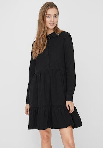 Vero Moda Jeanskleid »VMMARIA FRILL«, aus Bio-Baumwolle kaufen