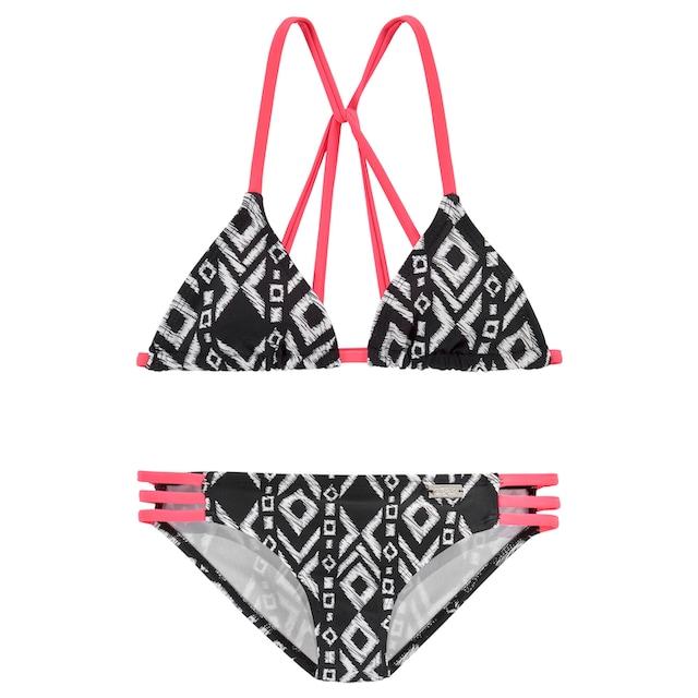 Buffalo Triangel-Bikini, mit modischer Rückenlösung