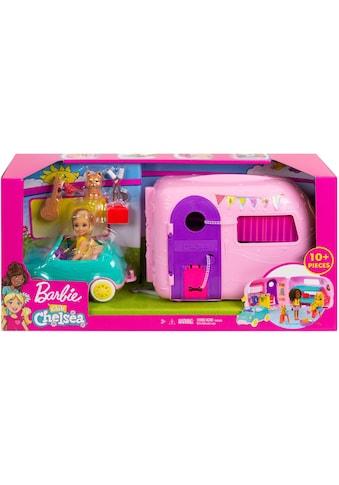 Mattel® Puppen Fahrzeug »Barbie Chelsea Camper Spielset mit Puppe« kaufen