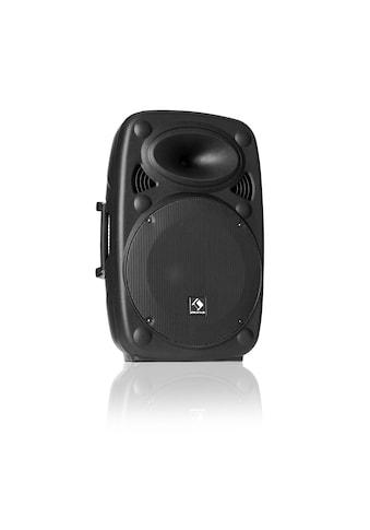"""Auna Aktiver PA Lautsprecher 10"""" 400 W max. USB -  und SD - Ports MP3 »SLK - 10« kaufen"""
