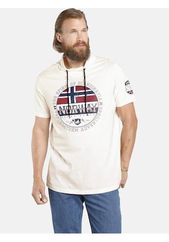 Jan Vanderstorm T-Shirt »ESKIL«, mit Schalkragen, Comfort Fit kaufen