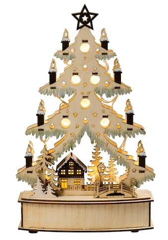HGD Holz - Glas - Design LED - Lichterbaum aus Holz kaufen