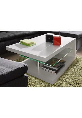 PRO Line Couchtisch, mit LED-Beleuchtung, auf Rollen kaufen