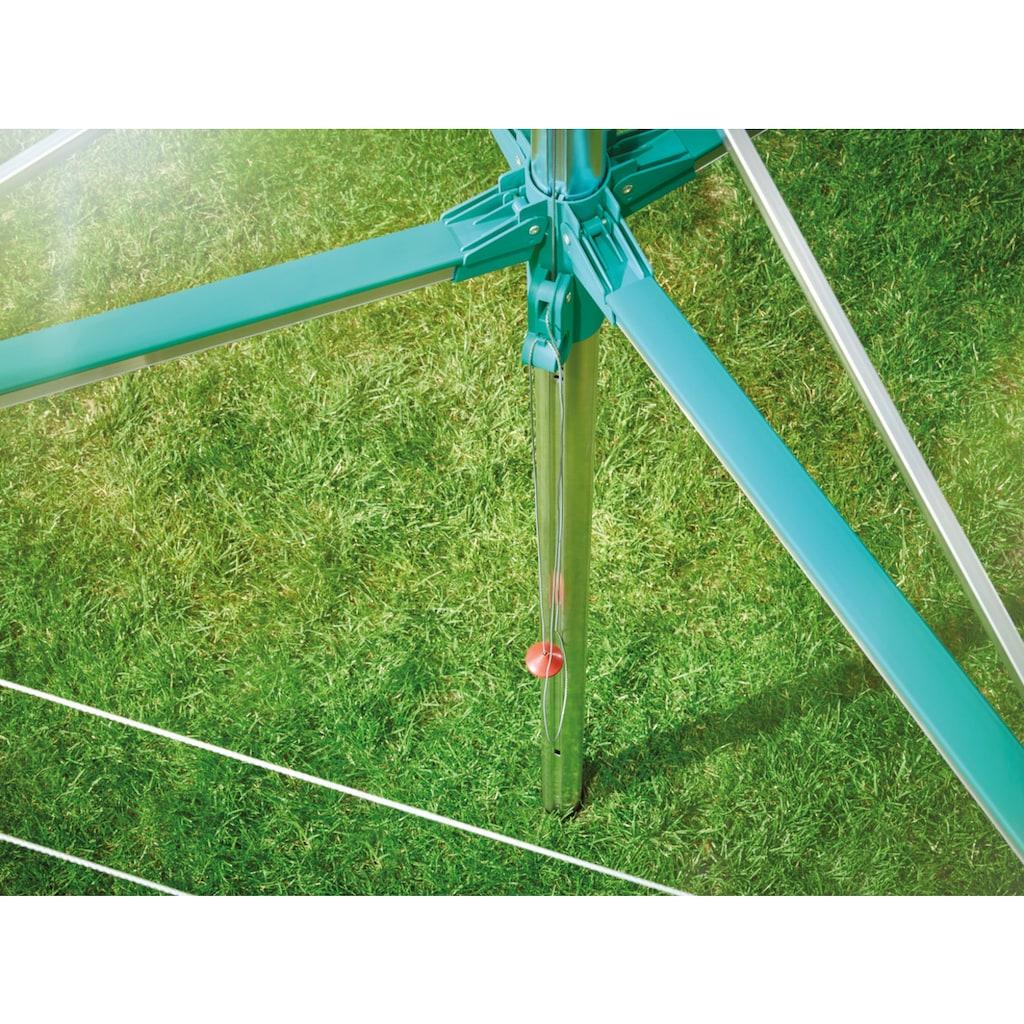 Leifheit Wäschespinne »Wäscheschirm LINOMATIC V 400«