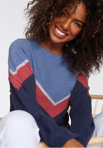Tamaris Strickpullover, mit Streifen-Muster - NEUE KOLLEKTION kaufen