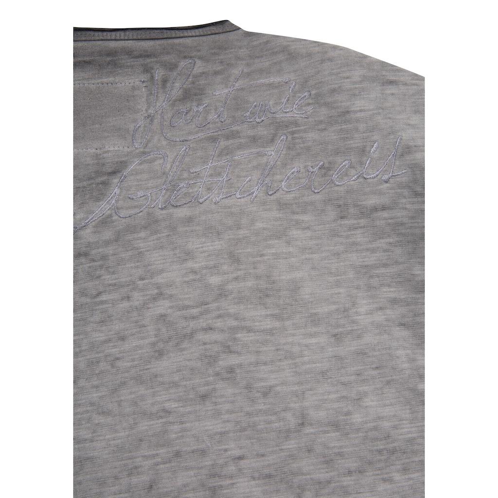 Andreas Gabalier Kollektion Trachtenshirt, Herren mit Printmotiv