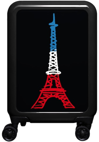 """meinTrolley Hartschalen - Trolley """"Eiffelturm, 77 cm"""", 4 Rollen kaufen"""