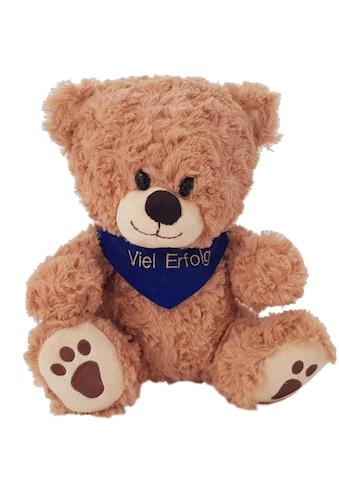 Heunec® Kuscheltier »Bär, sitzend mit blauem Halstuch«, mit individuell bestickbarem... kaufen