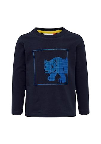"""LEGO® Wear Langarmshirt »LWTERRENCE 782«, """"3D Effektdruck mit Bärenmotiv"""" kaufen"""