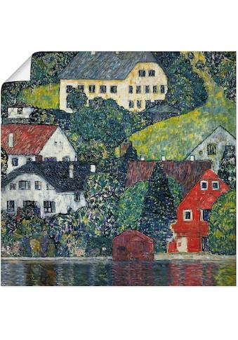 Artland Wandbild »Unterach am Attersee. Um 1916«, Gewässer, (1 St.), in vielen Größen... kaufen