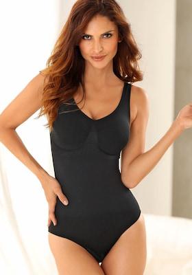 schwarzer Shapewear Body