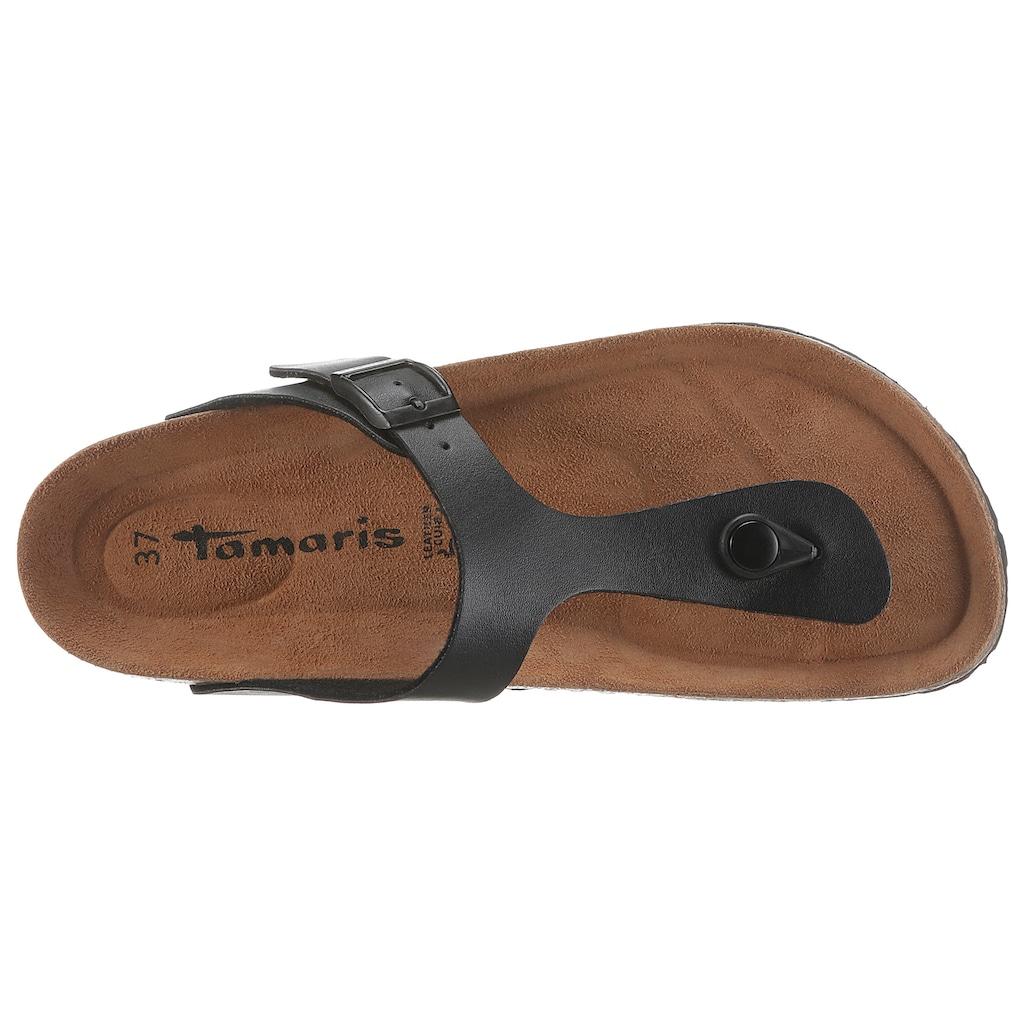 Tamaris Zehentrenner »CORRA«, mit weichem Zehensteg