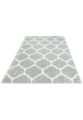 Leonique Hochflor-Teppich »Soraya«, rechteckig, 43 mm Höhe, Pastelfarben, Wohnzimmer kaufen