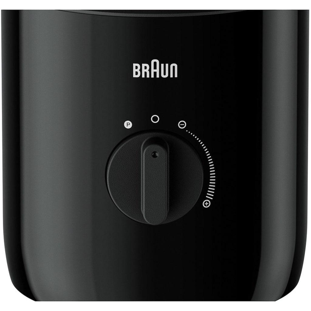 Braun Standmixer »PowerBlend 3 JB 3150 BK«, 800 W