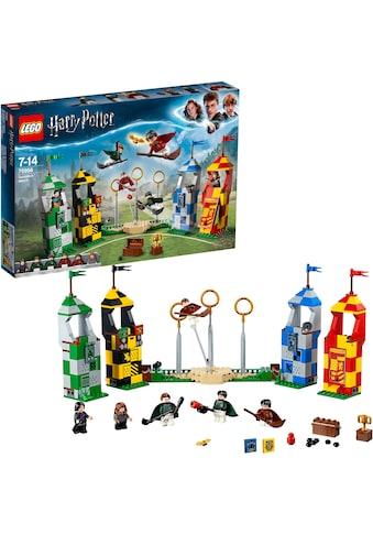 """LEGO® Konstruktionsspielsteine """"Quidditch Turnier (75956), LEGO® Harry Potter"""", Kunststoff, (500 - tlg.) kaufen"""