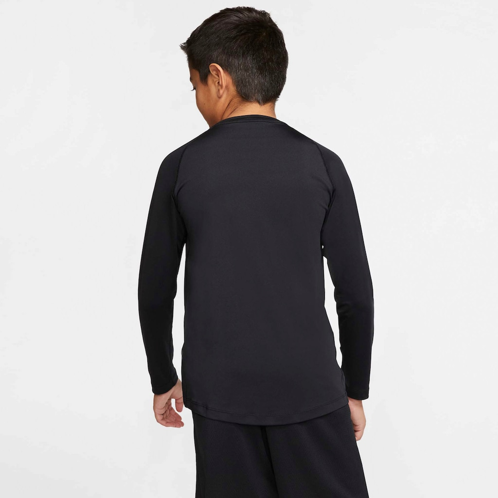Nike Funktionsshirt »BOYS LONGSLEEVE FITTED TOP«