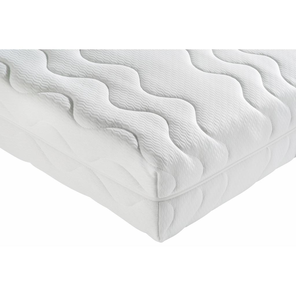 Breckle Taschenfederkernmatratze »Luxus«, 530 Federn, (1 St.), 7-Zonen Taschenfederkern, atmungsaktiv, Komfortschaumpolsterung, Made in Germany