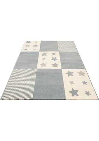 Lüttenhütt Kinderteppich »Tilly«, rechteckig, 14 mm Höhe, pastelfarben kaufen