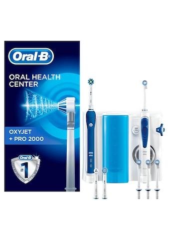 Oral B Mundpflegecenter »OxyJet + PRO 2000« kaufen
