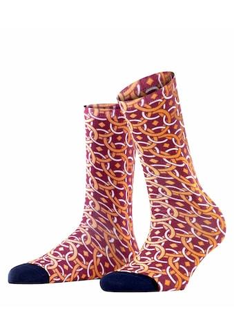 Burlington Socken »Paisley Print«, (1 Paar), mit hochwertiger Baumwolle kaufen